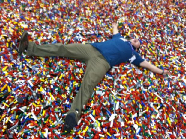 AG recently helped out at our LEGO Kidsfest in Richmond, VA.  One of his jobs was to lay in LEGO.