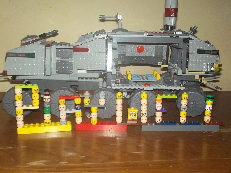 Ziggurat Lego-Style