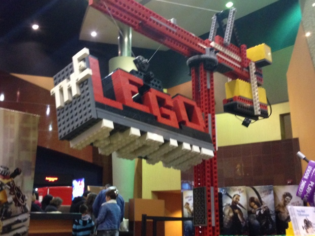 Play-Well's LEGO Movie Tabling display.