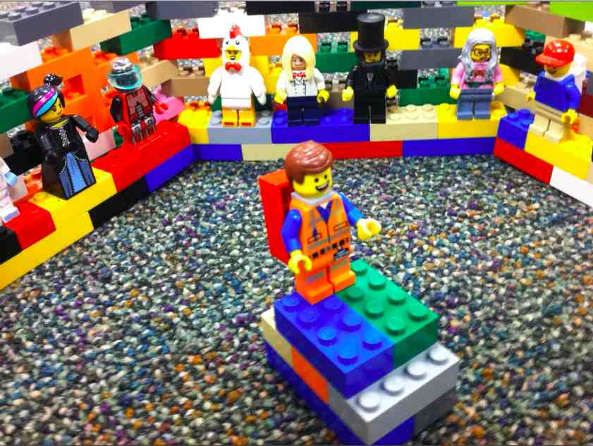 Reenacting the LEGO Movie In Our Classroom
