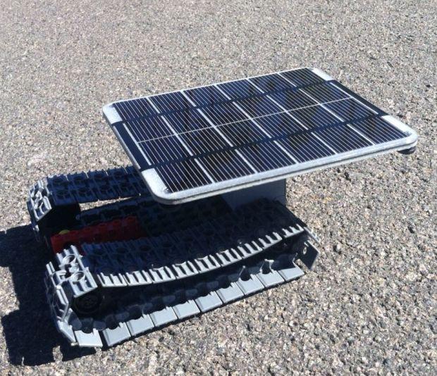 Solar Panel Tank