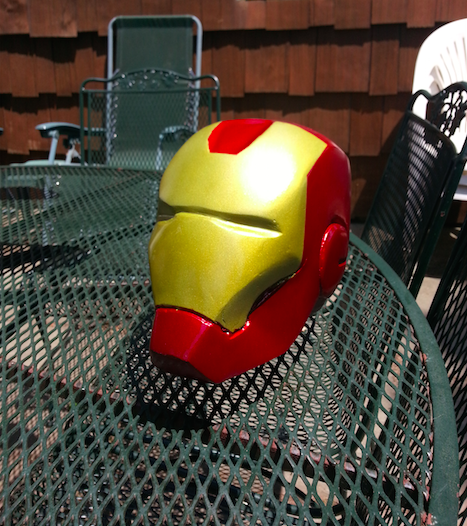 Iron Man Cardboard Helmet