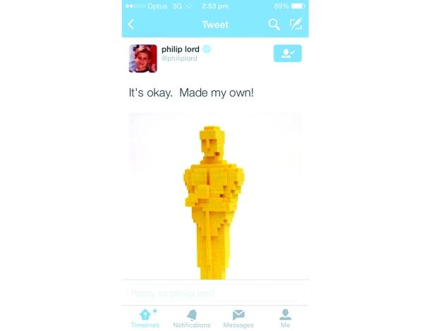 LEGO Movie Oscar