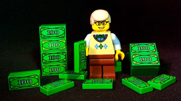 Get Your Billions Back LEGO
