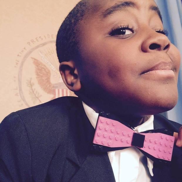 Kid President LEGO Bow Tie