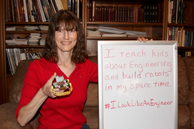 My name is Lynda Weiss and I'm currently an Area Manager for Play-Well TEKnologies. I received my M.S in Electrical Engineering from the University of California, Davis. In my current position I am responsible for programs that teach children basic engineering concepts using FUN Lego projects!