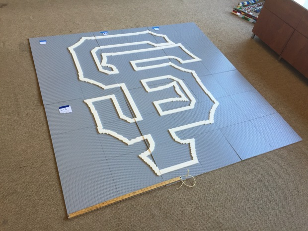 7.5 Foot SF Giants Logo