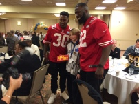 For The Super Bowl, we teamed up with the Make-A-Wish Foundation and the SF 49ers to create a LEGO Event