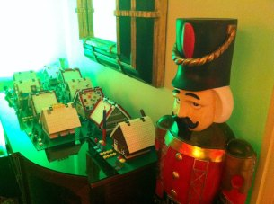This village is being protected by the infamous nutcracker.